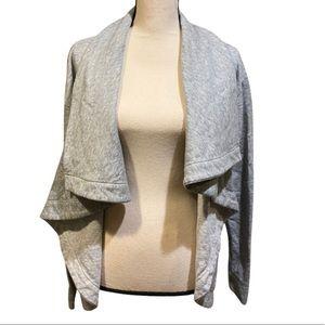 Merona Gray Flowy Plus Size Cardigan Sweater